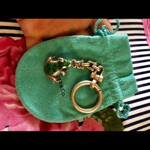 Tiffany frog 🐸 keychain